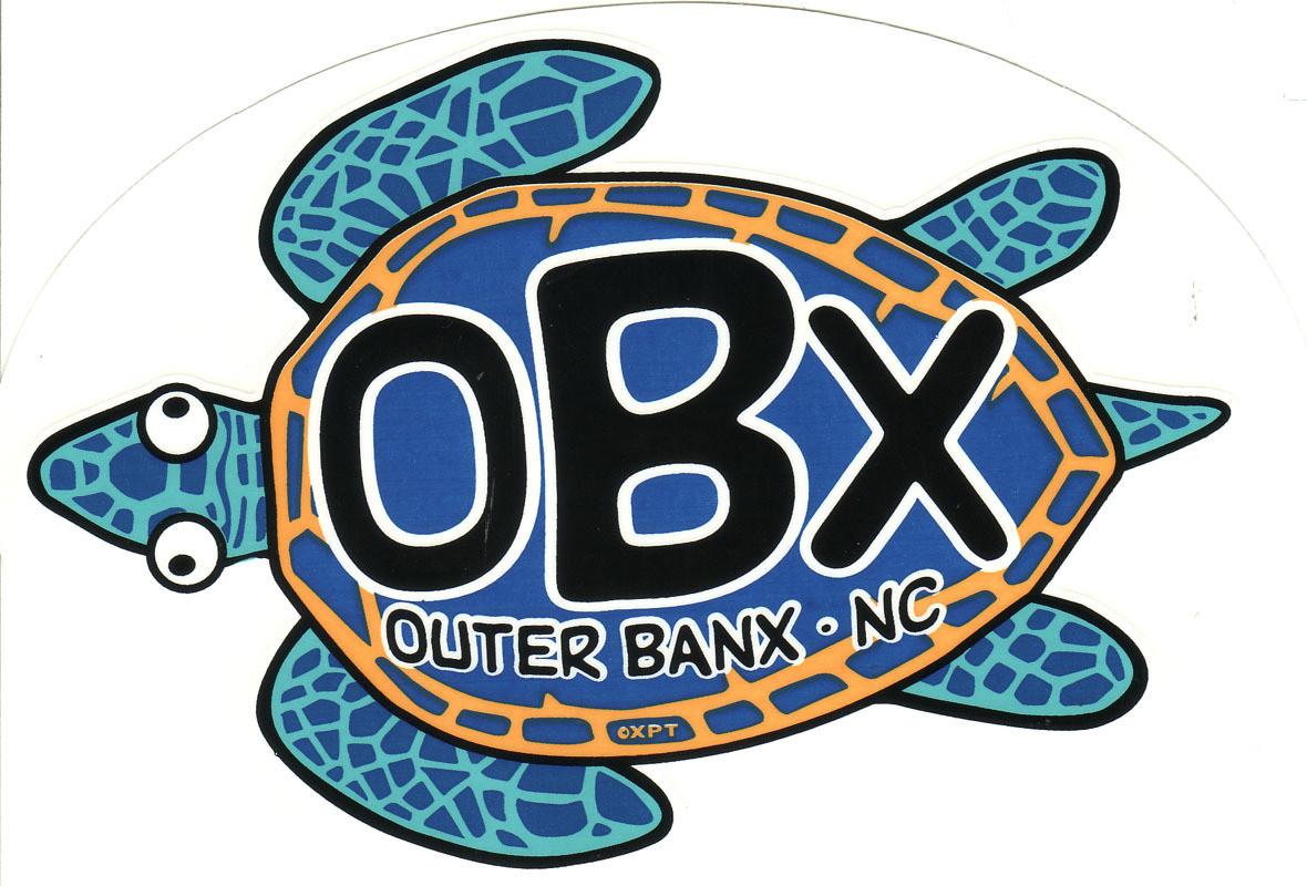 OBX Turtle Sticker