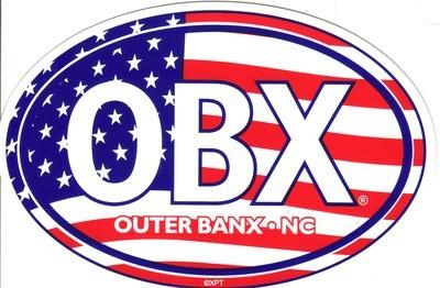 OBX Flag Sticker