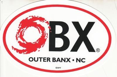 OBX Hurricane Sticker