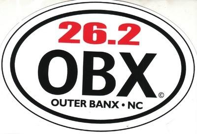 OBX Marathon Sticker