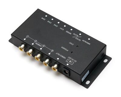 Видеоселектор 4-канальный с функцией видеоквадратора MDA-QUAD