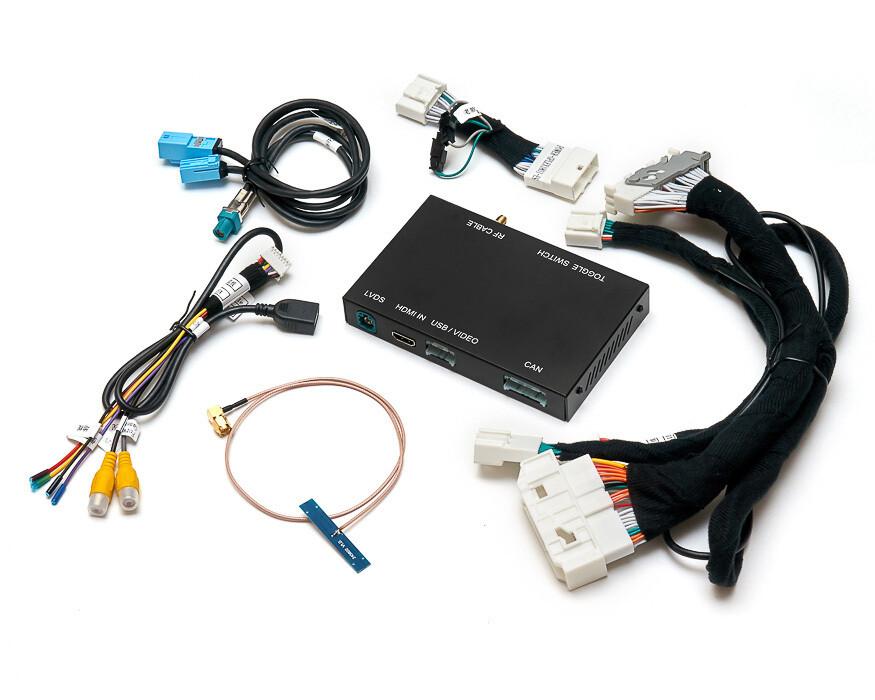 Видеоинтерфейс CarPlay & Android Auto для Lexus 2012-2020