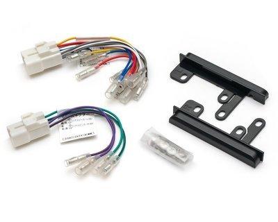 Адаптер для подключения 2DIN на Toyota - 2 разъема + Панели