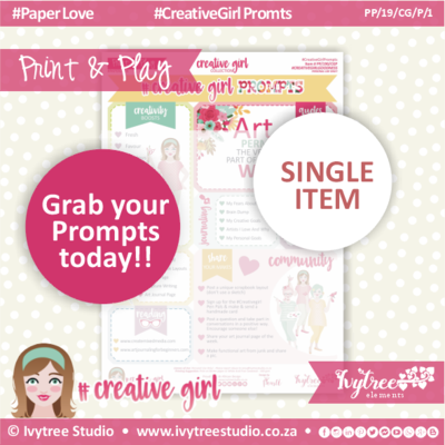19/CG/P/1 - #Creativegirl PROMPTS & Bonus Prompt Labels - Prompts 1