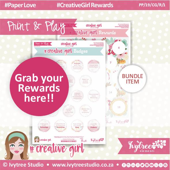 19/CG/R/1 - #Creativegirl REWARDS 1