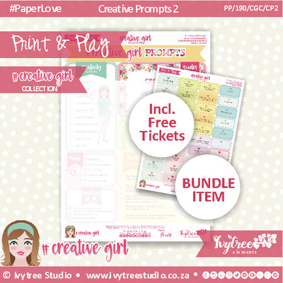 19/CG/P/2 - #Creativegirl PROMPTS & Bonus Prompt Labels - Prompt 2