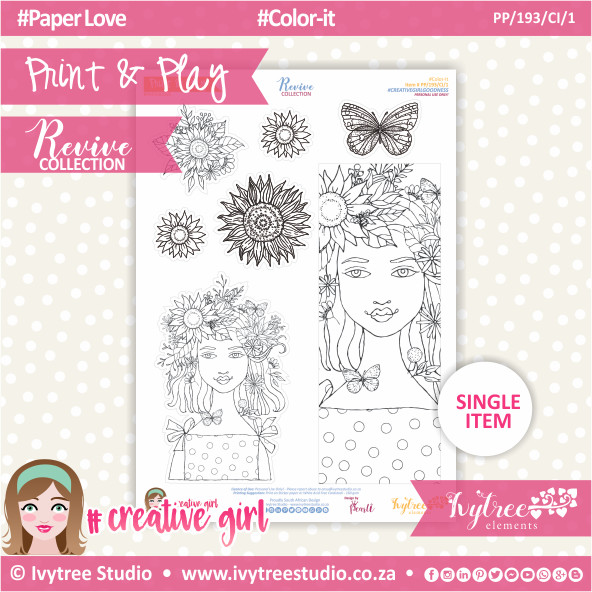 PP/193/CI/1 - Print&Play - Color-it - Revive Collection