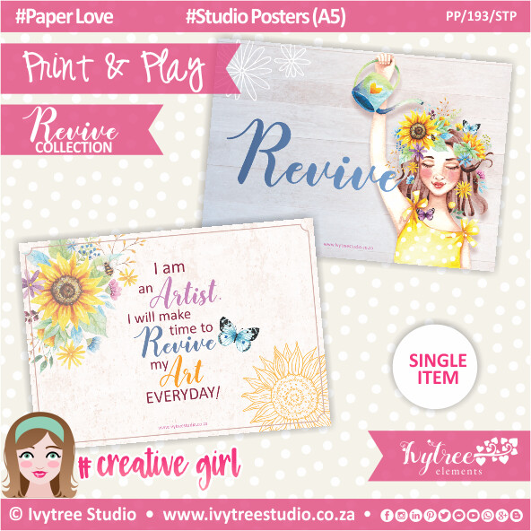 PP/193/STP - Print&Play - Studio Posters (A5) - Revive Collection