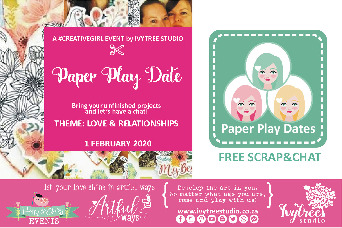 """""""Scrap'nChat"""" Online Paper Play Dates 2020"""
