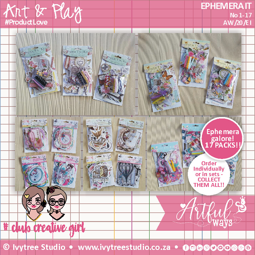 EPHEMERA IT! - 17 Collectable packs - Select from options menu (Pre-Order)