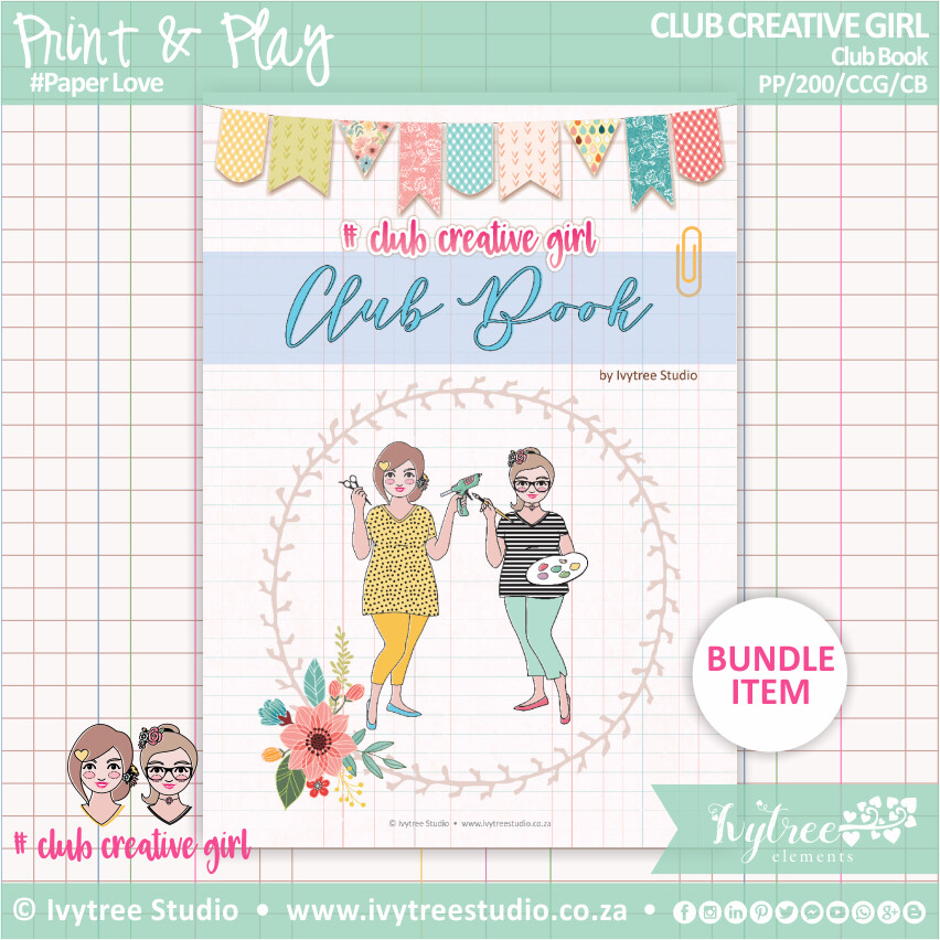 NEW!!! #CLUBCREATIVEGIRL - CLUB BOOK 2020