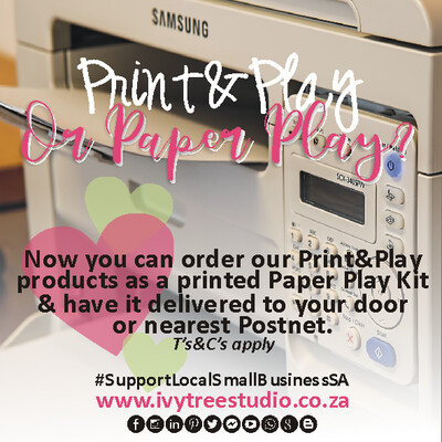 Order Print&Play as a Paper Play kit
