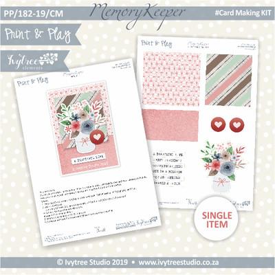 #PP/182-19/CM - Print& Play Memory Keeper Card Kit