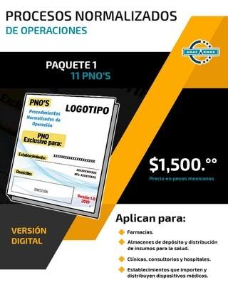 PNO's - Paquete 1
