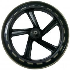 Ersatz Hinterrad mit Achse schwarz  X580 / X590