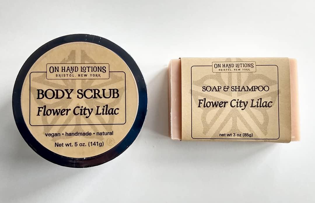 Flower City Lilac Body Scrub