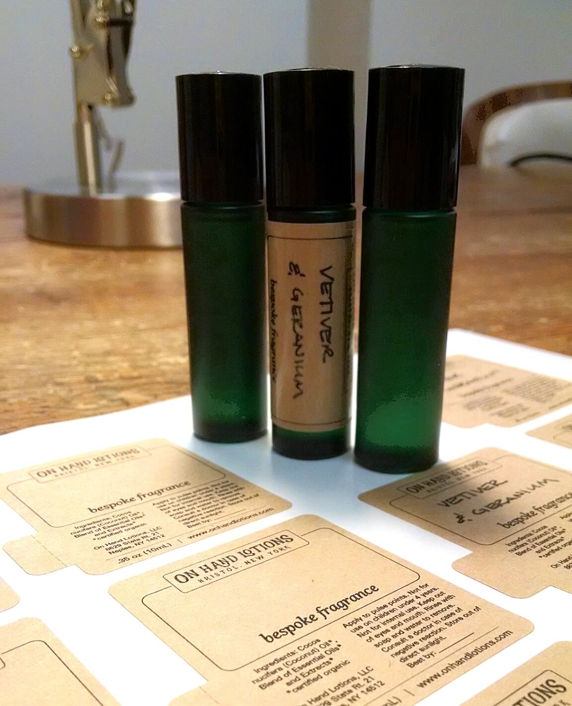 Custom Fragrance Perfume Roller