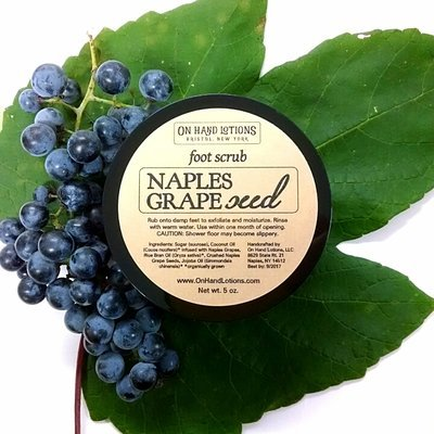 Naples Grapeseed Foot & Hand Scrub - 4 pack - WHOLESALE