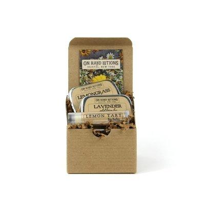 Mix & Match: Soap, Lotion, & Lip Balm Gift Set