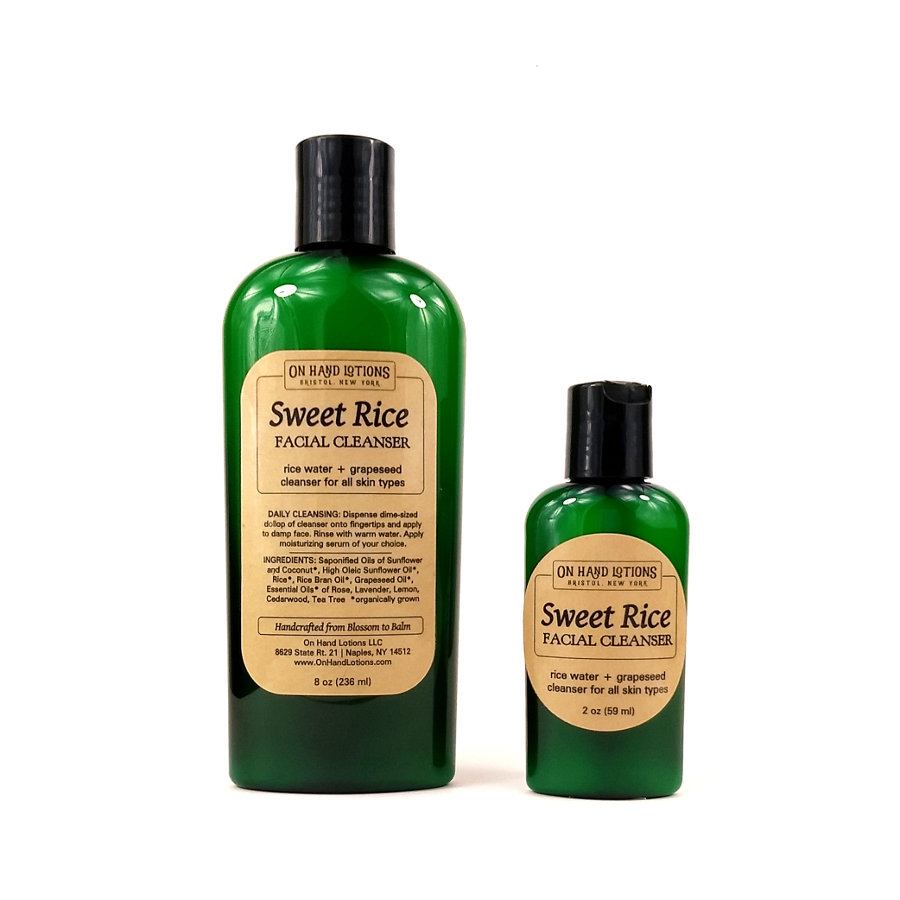 Sweet Rice Facial Cleanser