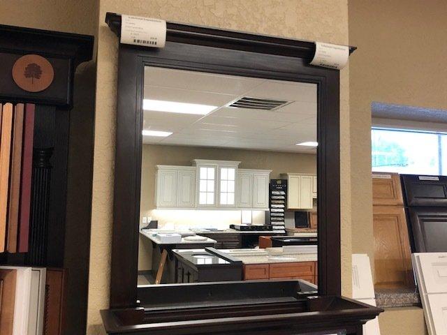 Framed mirror 27x30 - ON SALE