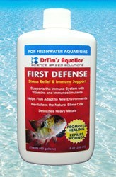 DrTim's First Defense Fish Stress Relief for Freshwater Aquaria, Size: 2 oz.