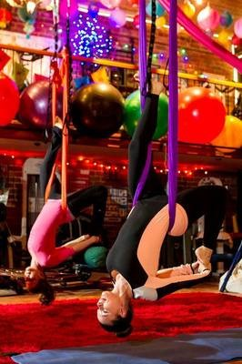Aerial Yoga 2 for 1 - $50.50 EACH -work out with a friend (Private sessions only, not to be used for groups)