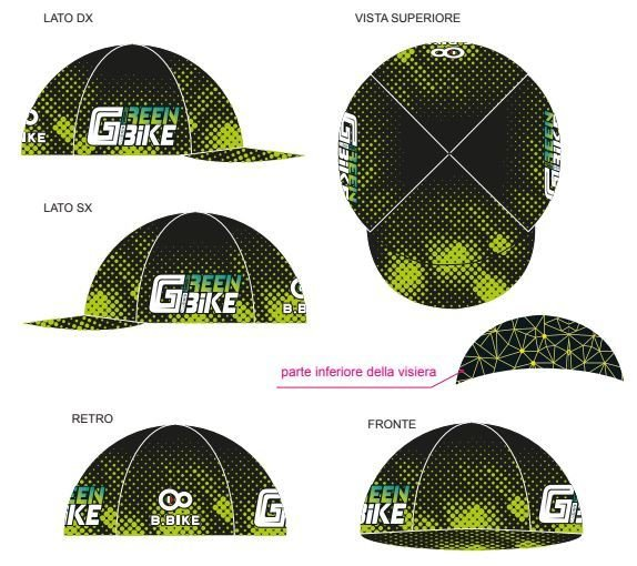 CAPPELLINO GREEN BIKE 2019 100% MADE IN ITALY