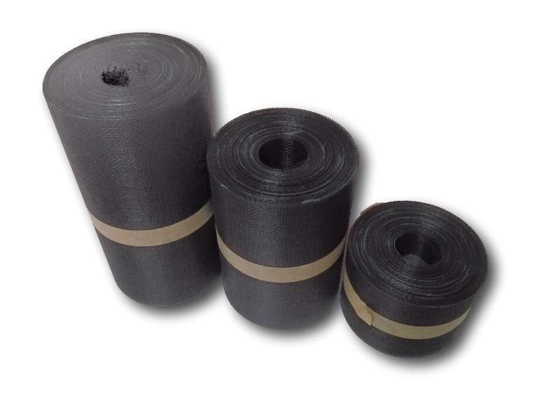 Soffit mesh, black PVC-coated fibreglass 30m roll SOFFG