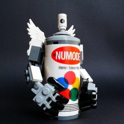 Spray Can Robot