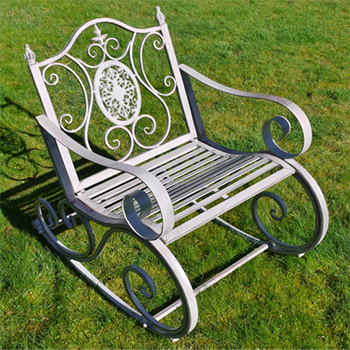 Elegant Garden Rocking Chair