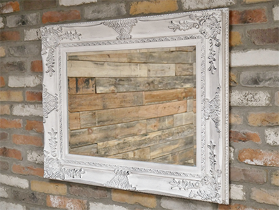 Rectangular Ornate Mirror