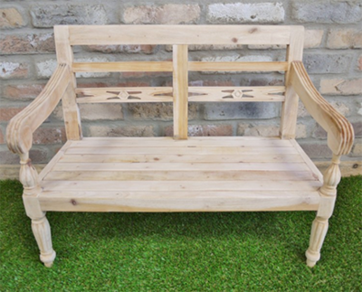 Mini Garden Bench - Unfinished