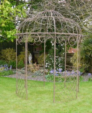 The Kelly Brown Finish Gazebo
