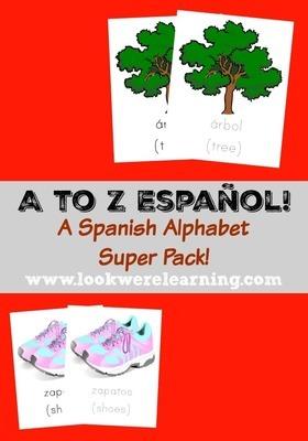 A to Z Español: A Spanish Alphabet Printable Pack