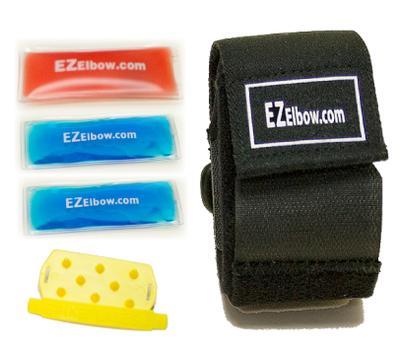 EZ Elbow Compression Strap Kit - för Tennis-/Golfarmbåge