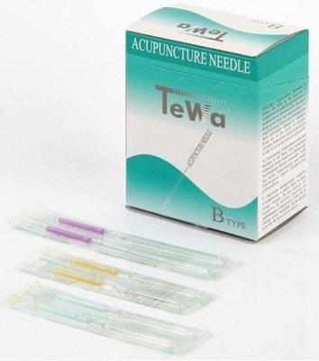 TeWa PB - Akupunkturnål m Plasthandtag