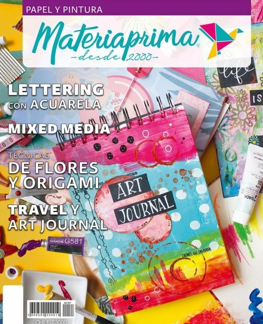 Revista Materia Prima #187  Papel y Pintura  2019