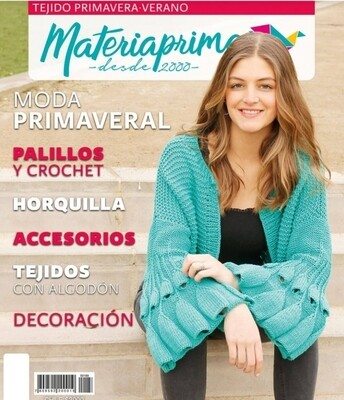 Revista Materia Prima #188  Tejido Primavera Verano 2019-2020