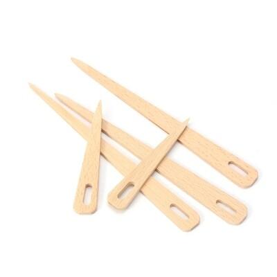 Set Agujas de madera transportadora de hilado  para telar