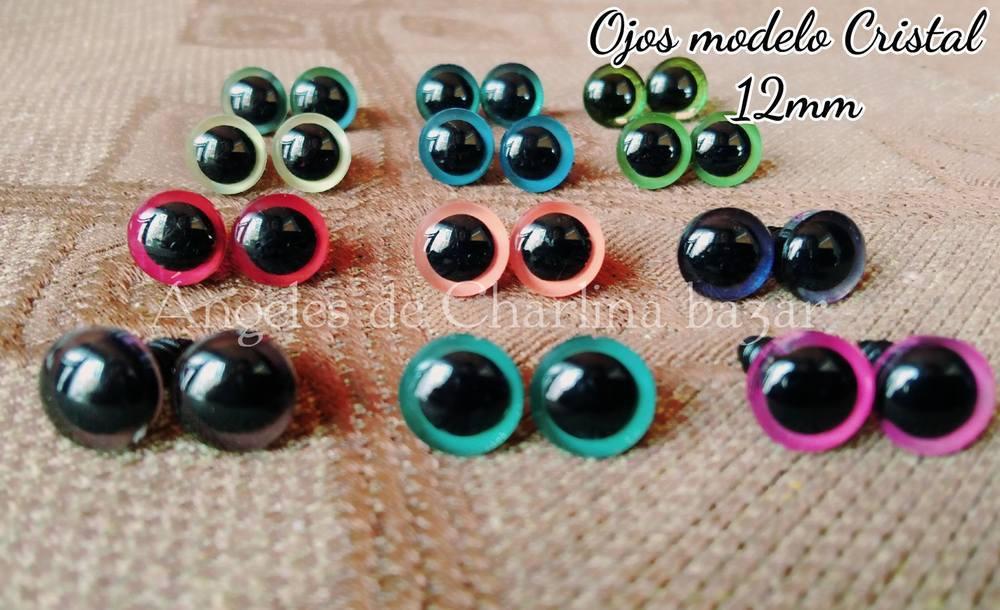 Ojos de seguridad 12 mm (20 unid.)