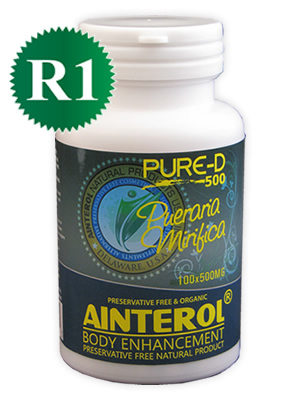 Ainterol Breast Enhancement Pills ​Pueraria Mirifica 100 capsules