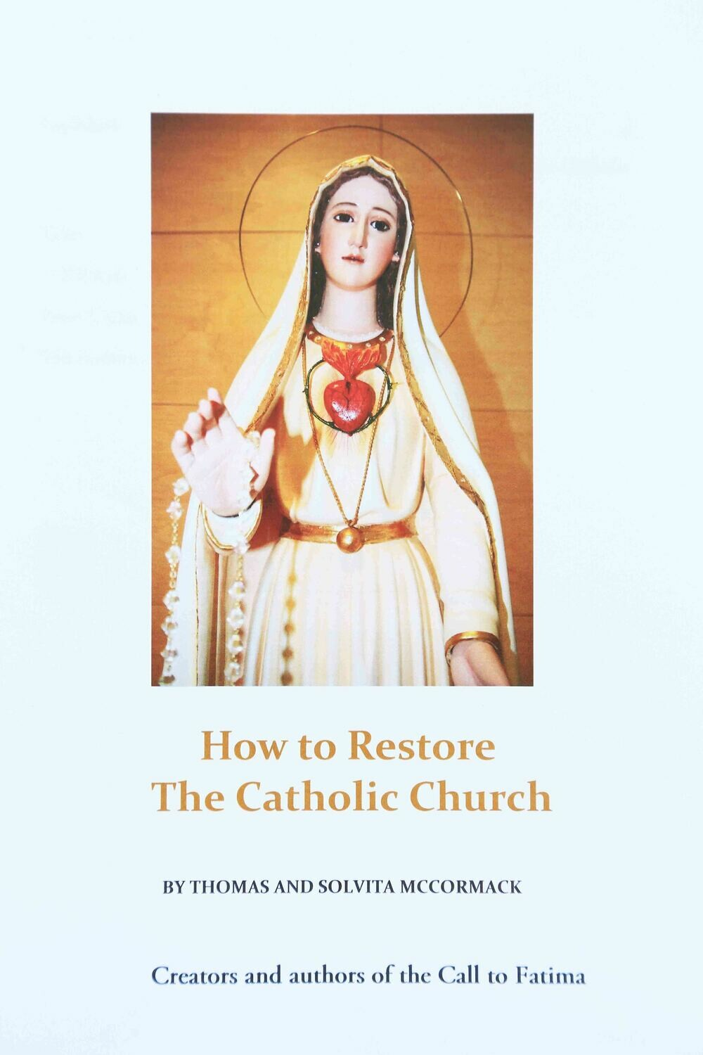 Ebook How to Restore The Catholic Church