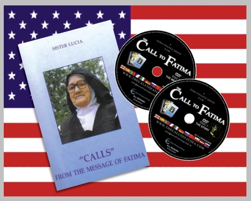 "Calls from the Message of Fatima + 2 DVDs ""The Call to Fatima"""
