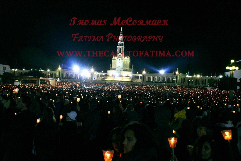 Fatima Shrine photograph A4 print