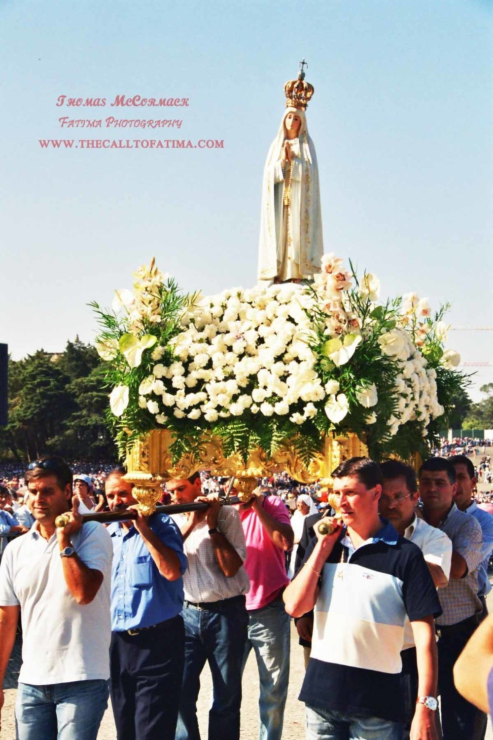 Our Lady of Fatima photograph A4 print