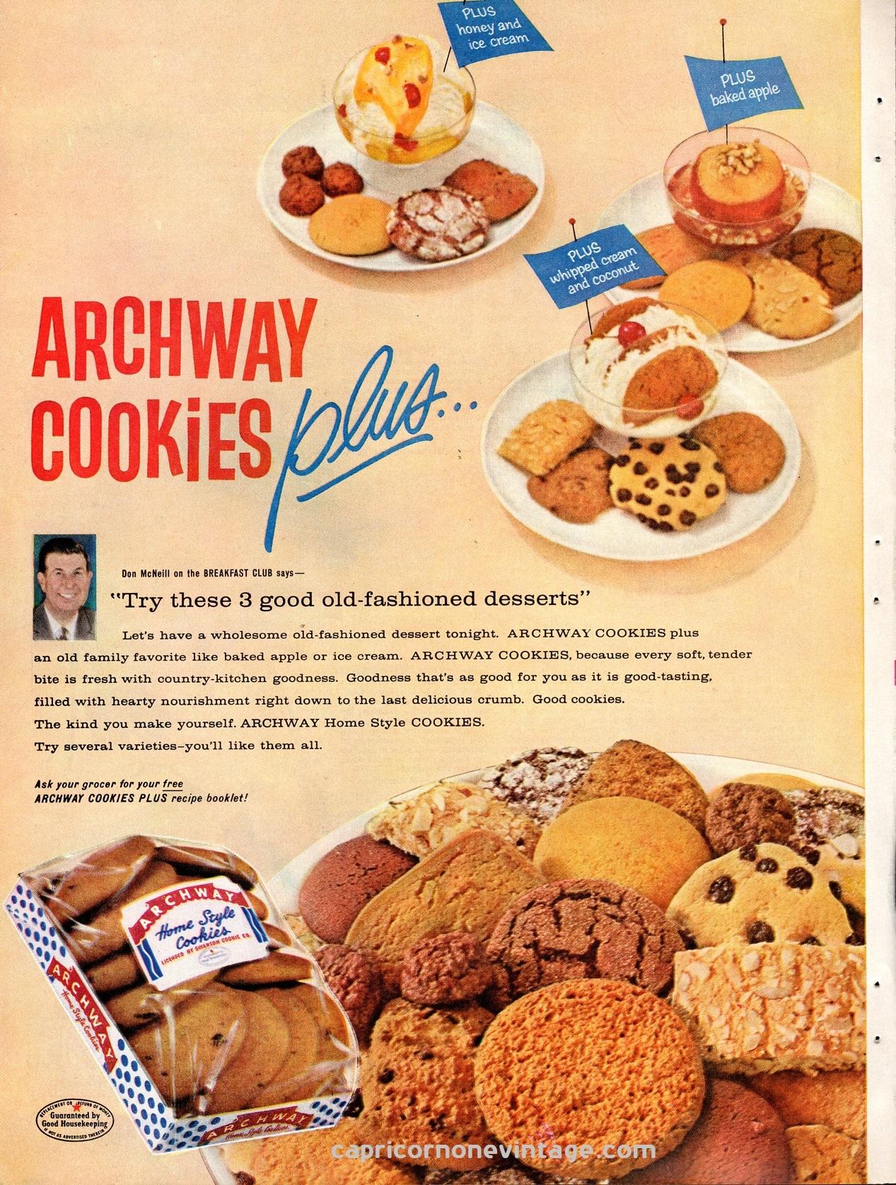 Good Food Vintage Cookies