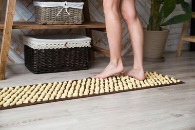 Massaažimatt jalgadele IGORA DECO - Lamor 140х40 сm