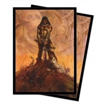 UP - Standard Sleeves - Frank Frazetta Art sleeves - Barbarian (100 Sleeves)
