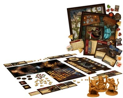 Maus und Mystik Brettspiel - EN - Brettspiel